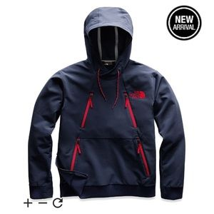THE NORTH FACE MENS TEKNO HOODIE in Navy Blue